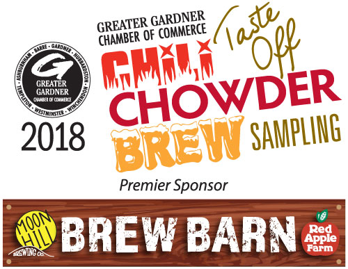 Hosted at the beautiful Red Apple Farm in Phillipston, the Greater Gardner Chamber of Commerce celebrates our 6th Annual Chili/Chowder Taste-Off and Brew Sampling on October 17, 4-8pm.