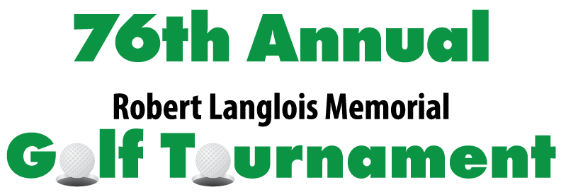 76th Annual Robert Langlois Memorial Golf Outing Logo